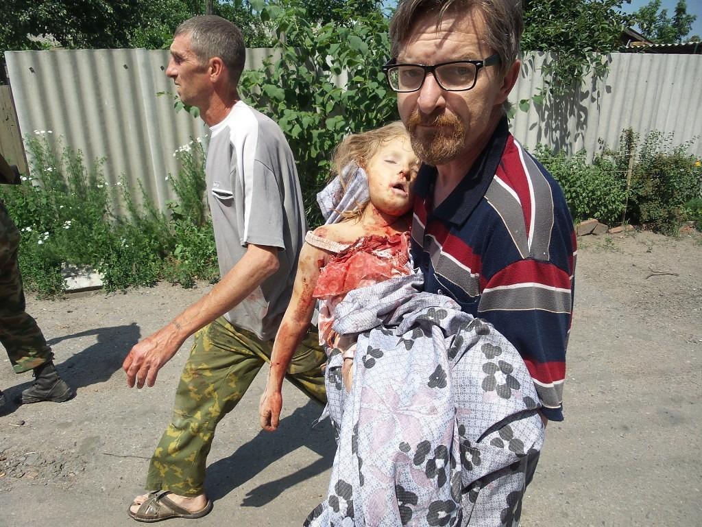 Child in Slavjansk