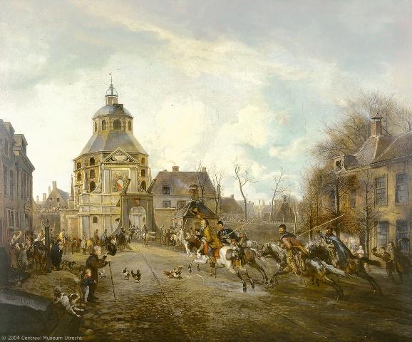 Cossacks entering Utrecht in 1813